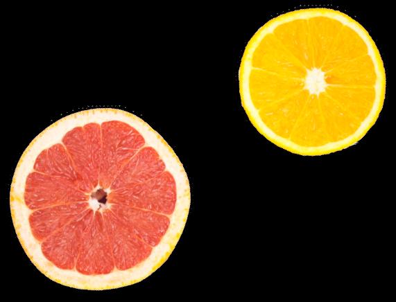 Felie de grepfrut si protocala